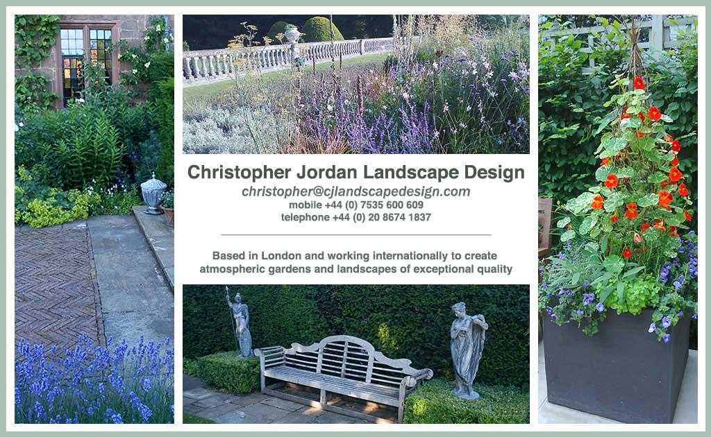 Christopher jordan landscape design for Cj garden designs
